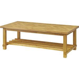 クーパス センターテーブル ナチュラル【幅:120cm】VET-735