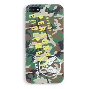 iPhone5ケース USAF タッチペン付き ウッドランドカモ 11A - 拡大画像