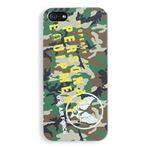 iPhone5ケース USAF タッチペン付き ウッドランドカモ 11A