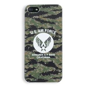 iPhone5ケース USAF タッチペン付き デジタルカモ 11B - 拡大画像