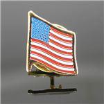 ロスコ ピンバッジ 星条旗 1776