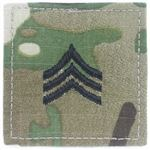 ロスコ 階級章 ワッペン 軍曹