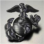 ロスコ ネジバッジ 海兵隊 紋章 ブラック 2753