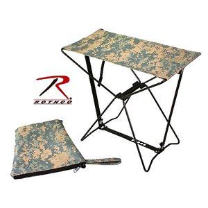 ロスコ キャンプスツール ACU 折りたたみ椅子 - 拡大画像