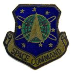 ミリタリーパッチ US AIR FORCE スペースコマンド OD