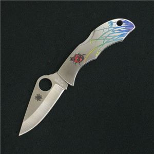 スパイダルコ てんとう虫 レディバグ ナイフ