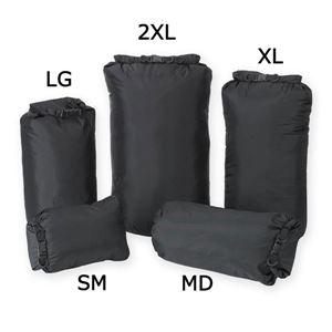 プロフォース 防水バッグ ドライサック [ブラック / M] - 拡大画像