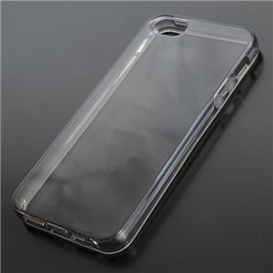 iPhone5 ハードシリコンケース [ブラック] - 拡大画像