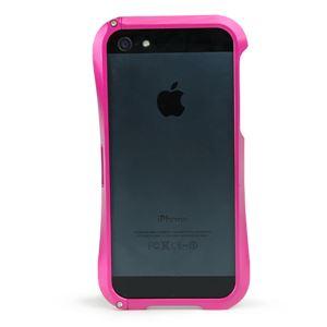iPhone5 メタルバンパー [ピンク] - 拡大画像