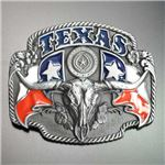 ベルトバックル テキサス ロングホーン WT100