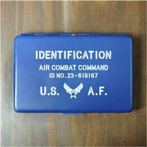 ネームカードホルダー US AIR FORCE [ブルー][ha6609601]A06E05D - 拡大画像