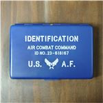 ネームカードホルダー US AIR FORCE [ブルー][ha6609601]A06E05D
