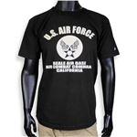 チャンピオン 半袖Tシャツ U.S. AIR FORCE T1011 [ブラック / XLサイズ][imd7352279]A09A02C