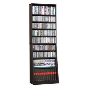 シンプル書棚/本棚【幅75cm】ホワイト可動棚付き【組立】