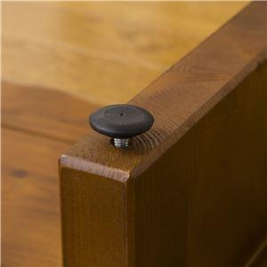 天然木玄関台(踏み台/ステップ) 幅90cm アジャスター付き 【完成品】