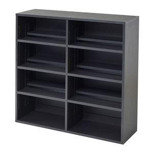 1cmピッチ2枚棚書棚 幅90 FAP-0003-DB