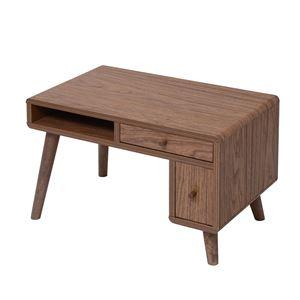 JKプラン Pico series Pc desk FAP-0014-BR ブラウン - 拡大画像