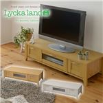 Lycka land ローボード(テレビ台/テレビボード) 120cm幅 FLL-0031-NA ナチュラル