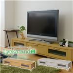 Lycka land ローボード(テレビ台/テレビボード) 180cm幅 FLL-0033-NA ナチュラル