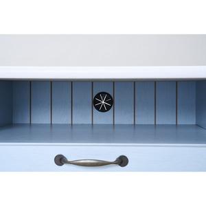 フレンチカントリー家具 テレビ台 幅80 フレンチスタイル ブルー&ホワイト