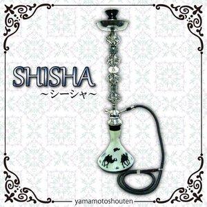 【水タバコ】シーシャ・HOOKAH(フーカー)/003/BLACK/78cm ※本体のみ - 拡大画像