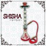 【水タバコ】シーシャ・HOOKAH(フーカー)/004/RED/67cm ※本体のみ