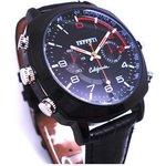 【防犯用】【小型カメラ】腕時計型フルハイビジョン1080P ビデオカメラ 30M防水 8Gメモリー内蔵