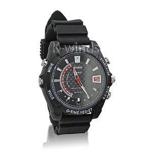 防水腕時計型ビデオカメラ (Fラバー) - 拡大画像