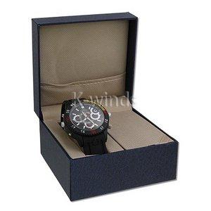 【小型カメラ】防水腕時計型ビデオカメラ (Aラバー)