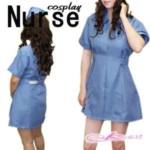 【3color】ナースコスプレ*看護服 ホワイト