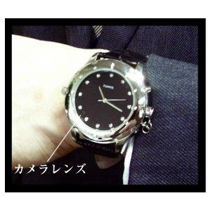 【防犯用】【小型カメラ】腕時計型ビデオカメラ WATCH MIRUMIRU BSC-08 - 拡大画像