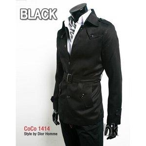 コート♪ブラック 2XLサイズ - 拡大画像