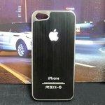 iPhone5 ケース/iPhone5 カバー☆メタルケース ブラック