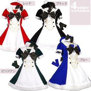 ホーリーガールワンピース☆4colorブルーLサイズ