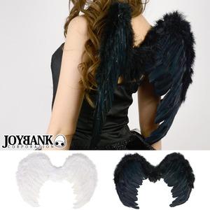 悪魔と天使の小さな羽 翼 コスプレアイテム ブラック