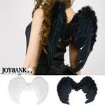 悪魔と天使の小さな羽 ブラック