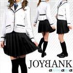 ホワイトジャケットの女子学生服セット サイズM
