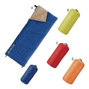 ロゴス 丸洗い寝袋パピー・17 ブルー - 拡大画像