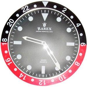 男前 時計 通販|  ラリックスウォールクロック【RAREX WALL CLOCK】/ブラック&レッド(赤)