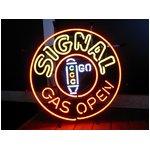 ネオンサイン【SIGNAL GAS OPEN】シグナル ガス オープン