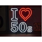 ネオンサイン【I LOVE 50'S】アイラブ50S