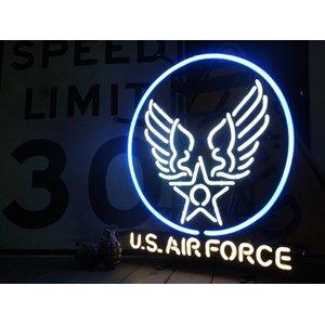 ついに登場!ネオンサイン【U.S.AIR FORCE】アメリカ空軍 - 拡大画像