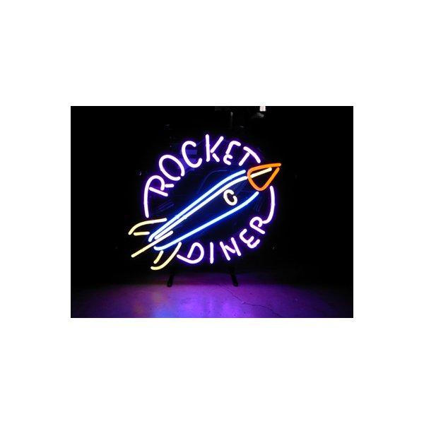ネオンサイン【ROCKET DINER】
