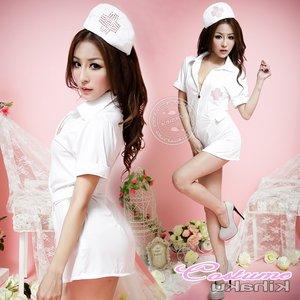白衣の天使 ナース服 コスプレ - 拡大画像