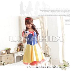 白雪姫コスチューム コスプレ ハロウィン衣装