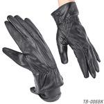 革手袋 【本革メンズ手袋】 ラム皮レザーグローブメンズ/ブラックMサイズ