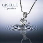 人気のベネチアチェーン CZダイヤモンドペンダント 「フィレンツェ」