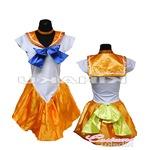 コスプレ女子会・結婚式余興美少女戦士 セーラームーン オレンジ セーラー戦士 コスプレ衣装 ハロウィン