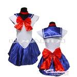 美少女戦士 セーラームーン ブルー セーラー戦士 コスプレ衣装 ハロウィン
