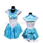 美少女戦士 セーラームーン ライトブルー セーラー戦士 コスプレ衣装 ハロウィン